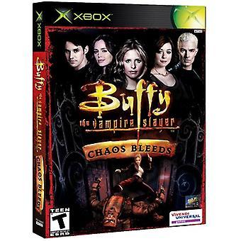 Buffy Vampire Slayer kaos blöder (Xbox)