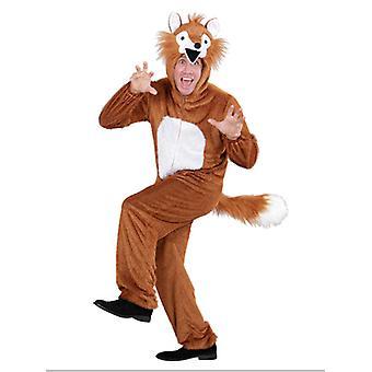 Plys Fox (hætteklædte buksedragt med maske)