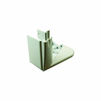 Indesit White Right Hand Side End Cap