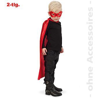 Superhéroe traje bandido cómico héroe cabo héroe niños cabo