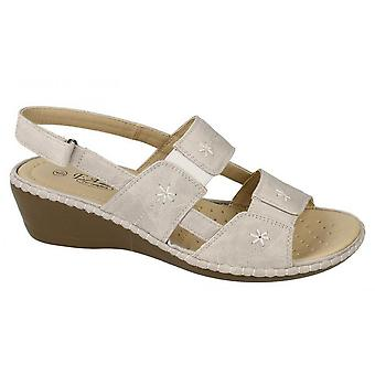 Eaze Womens/Ladies Open Toe Sandals