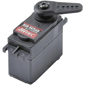 Hitec Standard servo HSB-9475SH Digital servo Gear box material: Steel nickel plated Connector system: JR