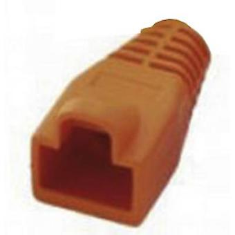RJ45 strain relief sleeve MHRJ45SRB-O Orange MH Connectors 6510-0100-09 1 pc(s)