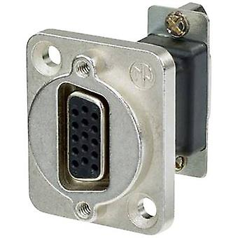 D-SUB adapter D-SUB socket 15-pin - D-SUB socket 15-pin Neutrik NADB15FF 1 pc(s)