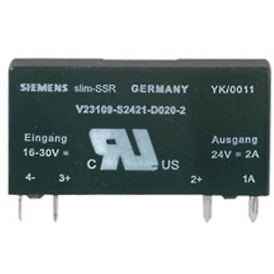 Courant de charge Weidmüller SSR 1 PC (s) SSS Relais 5V 24V 2Adc (max.)  2 tension de commutation A (max.)  33 Vdc