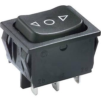 Marquardt Toggle switch 1839.1407 250 V AC 6 A 2 x (On)/Off/(On) IP40 momentary/0/momentary 1 pc(s)