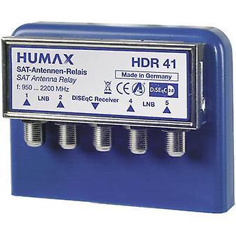 Humax HDR 4x1 WSG DiSEqC interruttore 4 (4 SAT/0 terrestre) 1