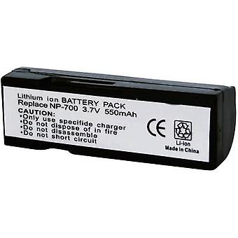 Conrad energy 250632 Camera battery replaces original battery NP-700 3.7 V 550 mAh