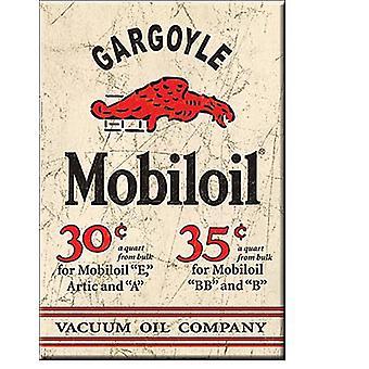 Mobiloil Gargoyle Steel Fridge Magnet