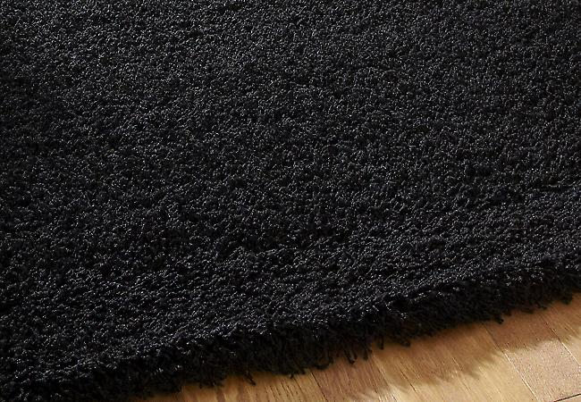 Vista - Plaine 2236 Noir Rectangle Tapis unis / Près de plaine Tapis