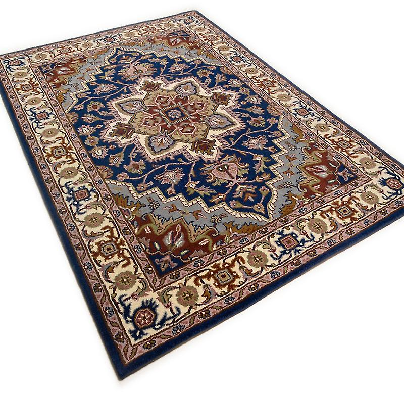 Rugs - Royal Heriz - Dark Blue & Cream