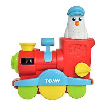 Tomy Toomies burbuja explosión tren juguete del baño