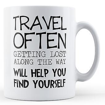 Reise ofte - trykte krus
