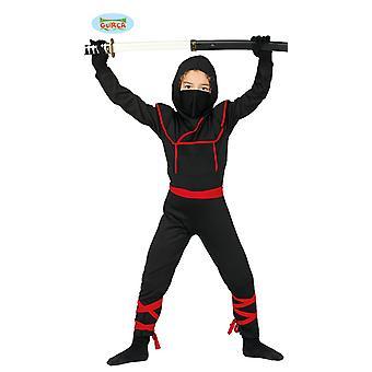 Guirca kostium wojowników Ninja walki dla dzieci karnawał