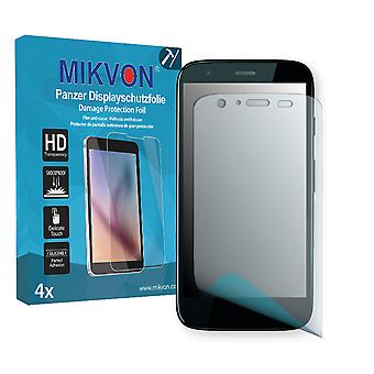 Motorola XT1036 Screen Protector - Mikvon Armor Screen Protector (Retail Package with accessories)