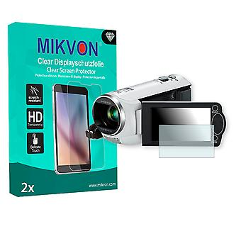 Panasonic HC-V210 Screen Protector - Mikvon Clear (Retail Package with accessories)