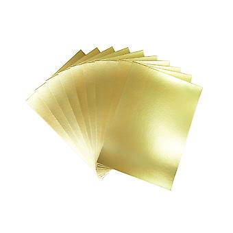 50 A4 230gsm Matt Gold Card Sheets for Kids Crafts | Coloured Card for Crafts
