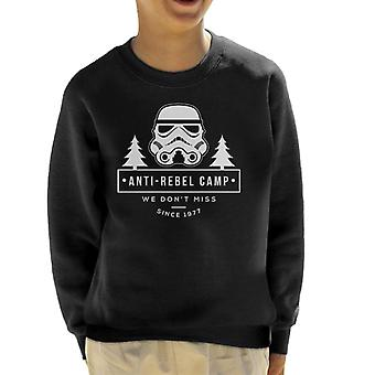 Originele Stormtrooper Anti Rebel kamp Kid's Sweatshirt