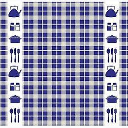 DADDY Tea towel Kitchen blue 60x65cm 6pcs