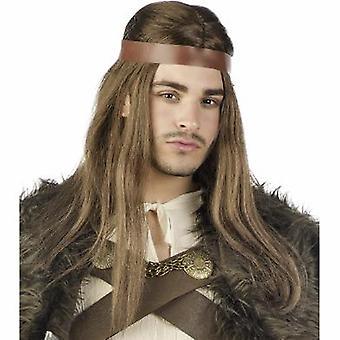 Ruler King men's King wig Mr. wig wig long hair wig