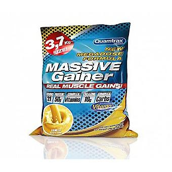 Quamtrax Nutrition Massive Gainer 3700 gr (Sport , Muscle mass , Mass gainers)