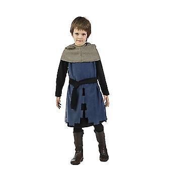 Costume enfant de Harald chevalier costume jeune épée combattant
