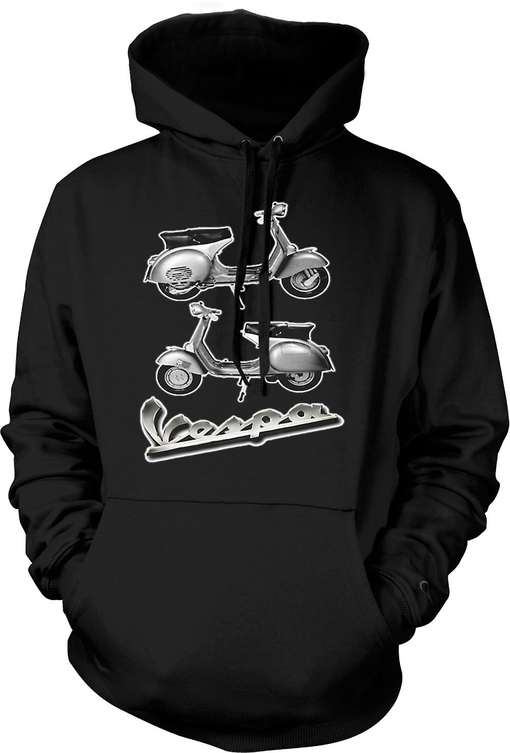 Enfant Sweat Capuche - Vespa 150GS Scooter - Mod