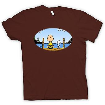 Mens T-shirt - Snoopy - Cartoon