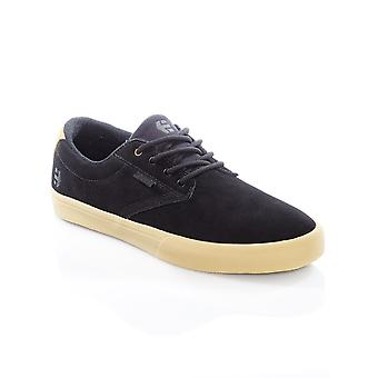 Etnies Black-Tan Jameson Vulc Shoe