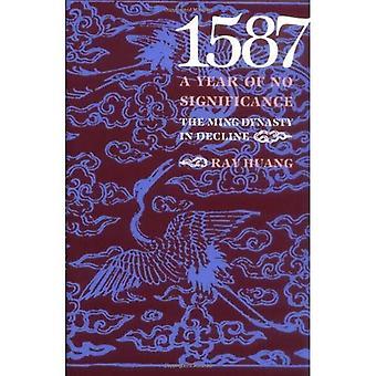 1587, ett år av ingen betydelse: Mingdynastin i nedgång
