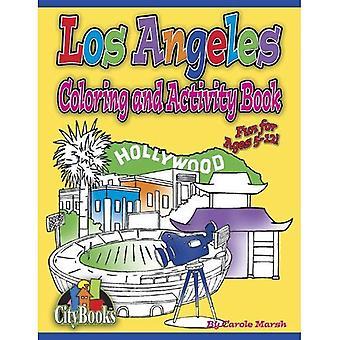 Los Angeles Färbung & Aufgabenbuch (Stadt Activity Books)