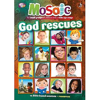 God Rescues (Mosaic)