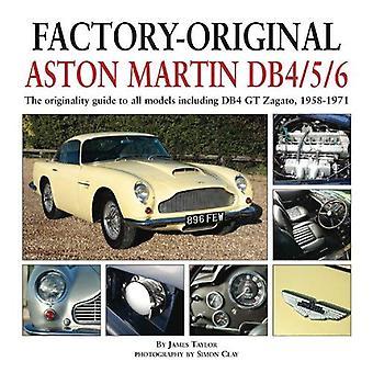 Factory-Original Aston Martin Db4/5/6: The Originality Guide to All Models Including Db4 GT Zagato, 1958-1971