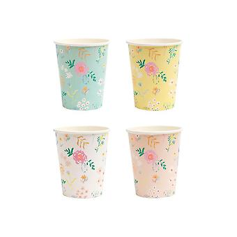 Meri Meri Wildflower Paper Party Cups x 12