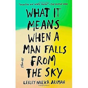 Wat het betekent wanneer een Man valt uit de hemel: verhalen