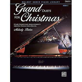 Grand duo pour Noël, Bk 3:8 fin primaire Arrangements pour un Piano, quatre mains (Grand duos pour Piano)
