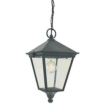 Turin catena Outdoor Lanterna - Elstead illuminazione T8 nero