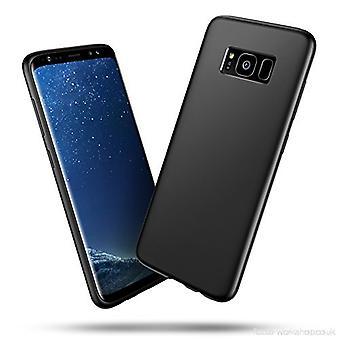 Soft black case Samsung Galaxy S8+