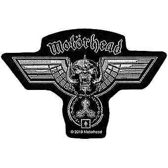 Motorhead hammered shaped sew-on cloth patch  (ro)