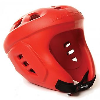 Macho Spar-Tec Head Guard Red