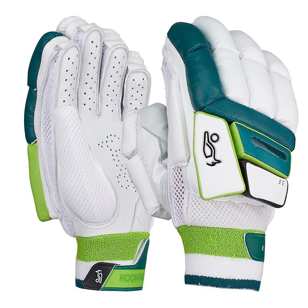 Kookaburra 2019 Kahuna 3.0 Cricket Batting Gloves White/Green