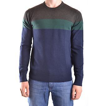 ミハエル Kors 青いウールのセーター