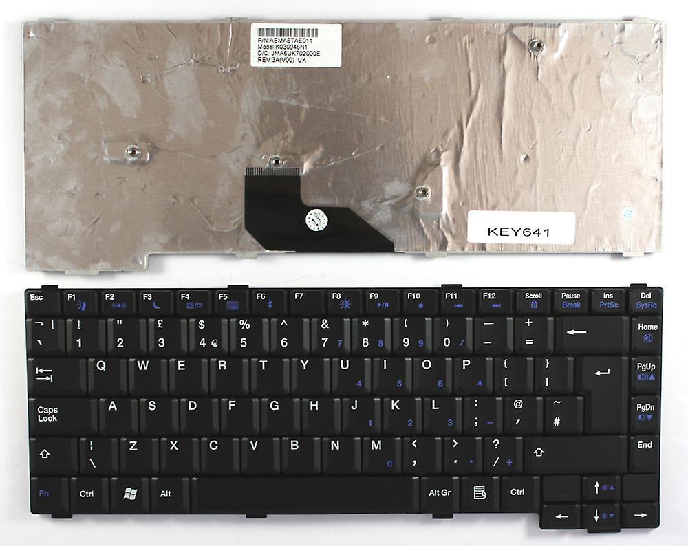 Passerelle MX6426 noir UK Layout remplaceHommest clavier d'ordinateur portable
