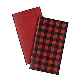 Echo Park Paper Red Buffalo Travelers Notebook Insert Daily Calendar (TNP1003)
