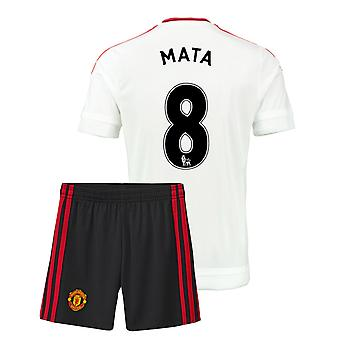 2015-16 Man Utd Away Mini Kit (Mata 8)