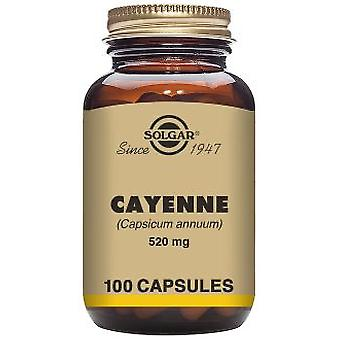 Solgar Cayenne - 100 vegetable capsules (Vitamins & supplements , Special supplements)