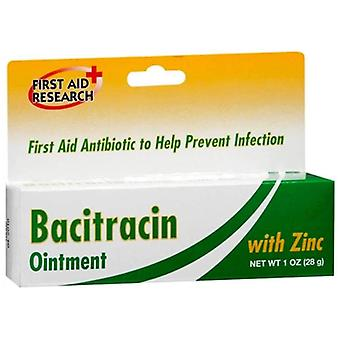 First aid research bacitracin ointment with zinc, 1 oz