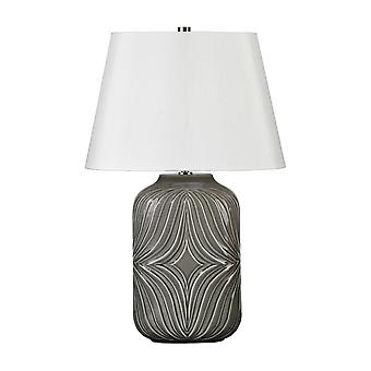 Elstead-lampada da tavolo 1 luce-grigio-MUSE/TL GREY