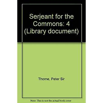 Serjeant for the Commons - 9780215532534 Book