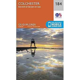 Colchester (September 2015 ed) by Ordnance Survey - 9780319243770 Book